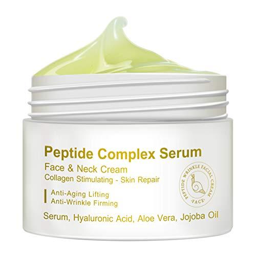 Peptide Complex Serum, Face & Neck Cream Collagen Stimulating Skin Repair, Anti-Aging Lifting, Anti-Wrinkle Firming (30g)