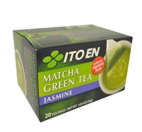 Ito En Matcha Green Tea Bags, Jasmine, 20 Count (Pack of 8)