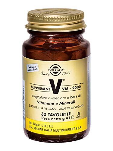 Solgar Fórmula VM-2000 Complemento Alimenticio - 30 Tabletas
