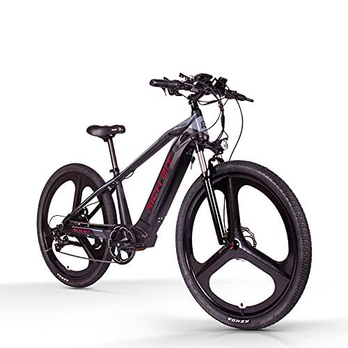 RICH BIT TOP-520 29'Mountain bike elettrica, batteria agli ioni di litio rimovibile 48V * 10AH, deragliatore Shimano 7 velocità, bici elettrica MTB adulto 500W (rosso)