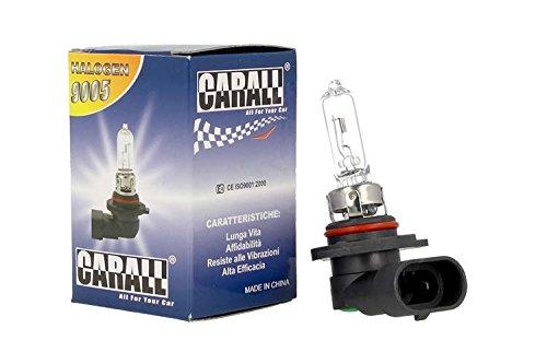 Lámpara halógena coche 9005HB312V 65W P20D transparente marca Carall