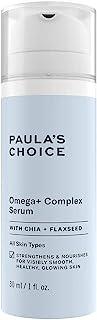 Paula's Choice Omega + Comlex Serum - Anti-Aging Serum Voedt de Vochtarme huid, Versterkt de Huidbarrière & Vermindert Rim...