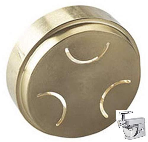 Trafila Orecchiette Originale realizzata in Bronzo opzionale Torchio Pasta per Planetarie e Impastatrici Chef Kenwood