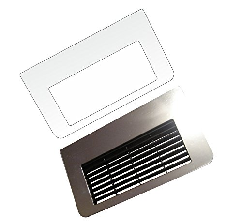 3 x Schutzfolie für Jura ENA 1-5 - 8-9 Micro Serie Tassenablage, Abtropfblech, Tassenplattform