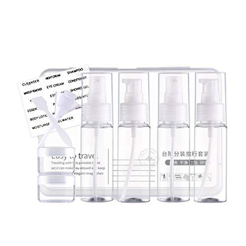 Timlatte 10 Pcs/Set Vide Lotion Voyage Vaporisateur de cosmétique Flacon cosmétiques Maquillage de Toilette Leak Proof Container