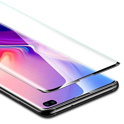 ESR Pellicola Protettiva per Samsung Galaxy S10 Plus/S10+, Proteggischermo in Vetro Temperato [Protezione Massima 3D] [Copertura Schermo Intero], per Samsung...