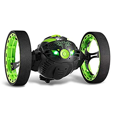 GBlife 2.4GHz Wireless Remote Control Jumping RC Toy Cars Bounce Car Gift Toys for Kids Boys No WiFi (Green) by GBlife