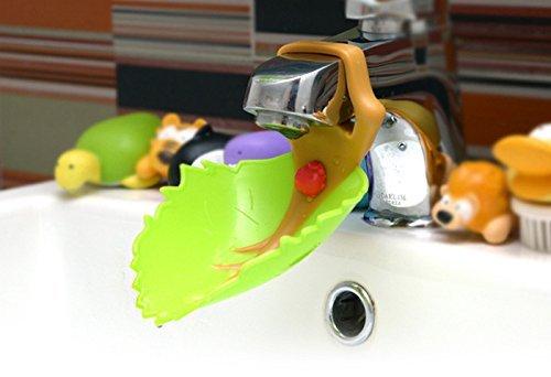 wuzmei nouvelle feuilles type de robinet extender-sink Poignée Rallonge pour children-baby Accessoire de Salle de Bain pour votre enfant LOVE main Wishing – Emballage