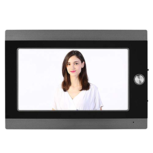 ASHATA Digitaler Türspion, 7 Zoll LCD WiFi IP Video Türkamera mit PIR Bewegungserkennung Nachtsicht,Digitale Türspion-Kamera Viewer Foto Türklingel Überwachungskamera Remote APP(EU)