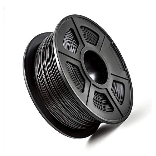 3d Printer Filament 1.75mm, PETG Carbon Fiber Filament, Comfortable Printing Feel-Carbon black 1kg