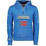 Geographical Norway - Sudadera DE Hombre GYMCLASS Azul ELÉCTRICO M