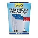 Tetra Whisper Bio-Bag Disposable Filter Cartridge 3 Count, For Aquariums, Large