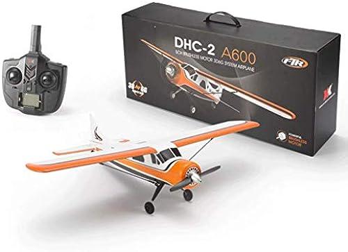 RC Segelflugzeug Flugzeug Drohne DHC 4CH 2.4G Brushless Motor 3D6G RC Flugzeug 6 Achsen Segelflugzeug Steuerflugzeug PNP RC Flugzeug Drohne Modell Outdoor Spielzeug