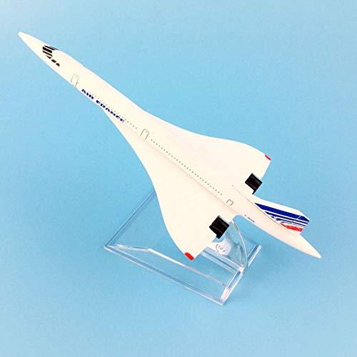 LYXing 16cm Air France Concorde Modellflugzeug Spielzeug für Kinderflugzeug Geschenk Dekoration