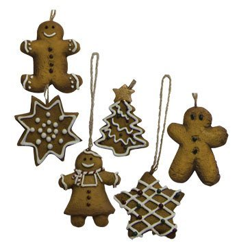 BCD Mini imbir ciastko ozdoba zestaw kraj prymitywny świąteczny wystrój