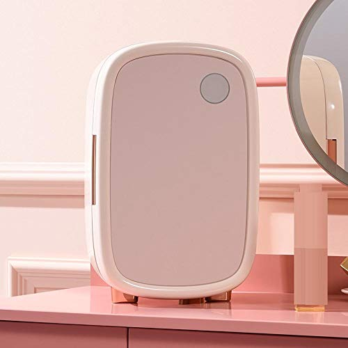 Mini Nevera Eléctrica Nevera De Mesa 12L Refrigerador De Una Puerta Refrigerador Cosmético Abs Hogar Pequeño Refrigerador-A