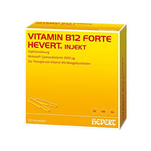 Vitamin B12 forte Hevert injekt Ampullen, 100 St. Ampullen