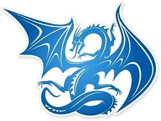 Blue Dragon Fantasy Styling Vinyl Sticker - Car Phone Helmet - SELECT SIZE