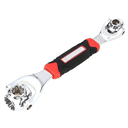 Nifogo Universal Wrench Steckschlüssel Socket Tools 360 Grad Einstellbare Multifunktions Schraubenschlüssel Werkzeug funktioniert für Möbel Auto Reparatur