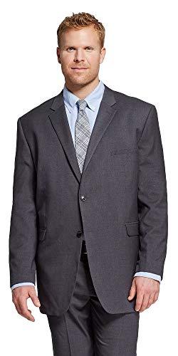MERONA 남자의 크고 키 큰 고전적인 맞는 정장 재킷