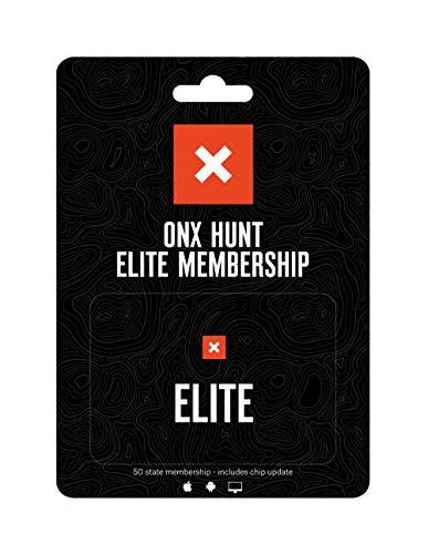 ONX Hunt Elite: Digitale Karte für Handy, Tablet und Computer – Farbcodiert Landbesitzer – 24k Topo – Jagdspezifische Daten – Updates Jagd-Chip