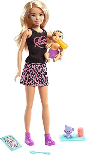 muñeca barbie cachorritos recien nacidos fabricante Barbie
