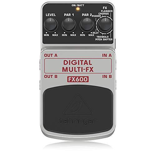 Behringer FX600 Digital MultiFX Digital Stereo Multi-Pedal, DIGITAL MULTI-FX FX600, Guitar Pedal