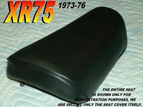 New Replacement Super beauty product restock quality top New sales seat cover fits XR75 XR 75 047 Honda 1973-76