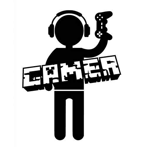 MCTYLI Sticker voor auto, vinyl, voor videospelers, gamers, jongens, tieners, 10,7 cm x 14,1 cm
