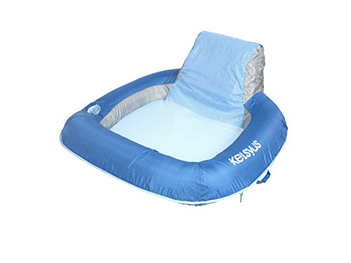 Kelsyus Floating Chair Inflatable Float for Pool,...
