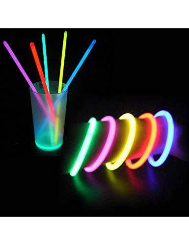 Party Pro 100101 Glowstick Starlight Bracelets fluorescents Couleurs assorties