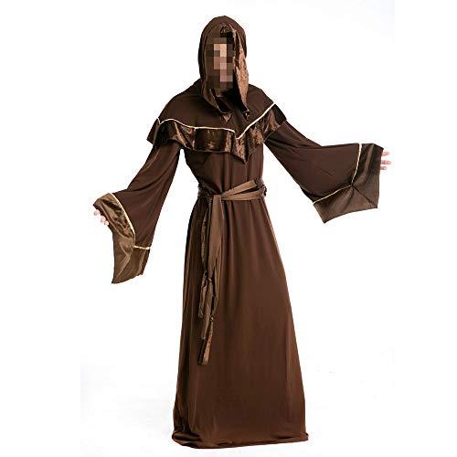 YyiHan Disfraz De Halloween, Disfraz De para Niña Halloween Disfraz Vestido Halloween Cosplay,Disfraz De Halloween Mago Adulto Traje De Fiesta De Baile Mago Mago