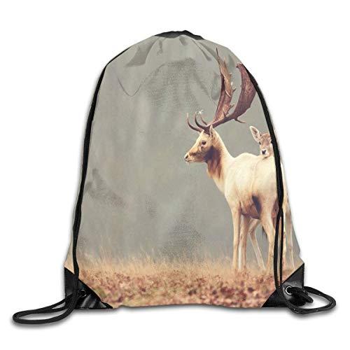 EELKKO Bowling Funny Unisex Lightweight Backpack Gym Drawstring Bags.