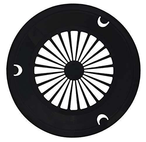 Table To Go Reusable Plastic Plate Holder | Durable Plastic Support | 10 Inch Paper Plate Holder | Pack of 20 | Black Lightweight Plate Holders