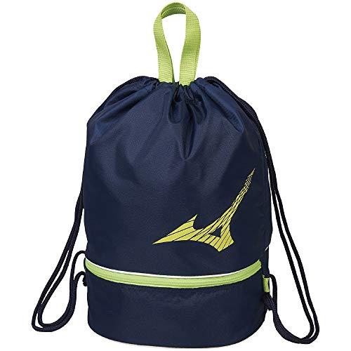 MIZUNO(ミズノ) ユニセックス プールバッグ 容量:約10L N3JD0001 カラー:グリーン サイズ:F ブラック