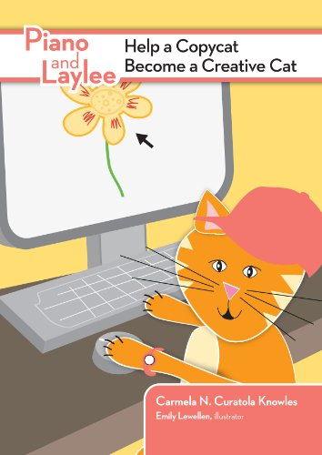 Piano and Laylee Help a Copycat Become a Creative Cat (Piano and Laylee Learning Adventures Book 4) (English Edition)