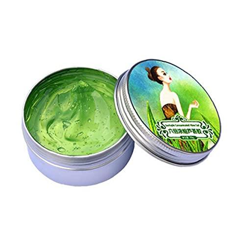 1PC Naturals Gel de Aloe Vera Puro extracto de Aloe hidratante Diaria de la Piel Ultra Hidratante de refrigeración Gel acondicionador para no pegajosa Pelo para la Cara Piel y el Cabello (30 g)