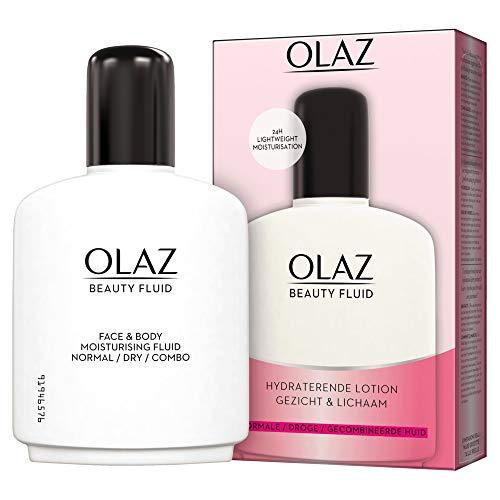 Olaz Beauty Fluid Feuchtigkeitslotion normale/trockene Haut/Mischhaut, 250 g