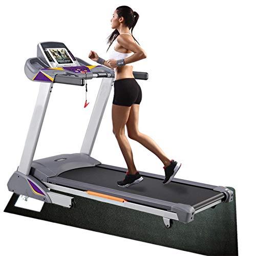 Primlisa Esterilla de protección para el suelo, dispositivo de fitness, base antideslizante para aparatos de fitness, esterilla de protección para entrenamiento elíptico, cinta de correr, 120 x 60 cm