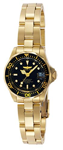 Invicta Women's Pro Diver GQ 8943 Gold Stainless-Steel Quartz Fashion Watch