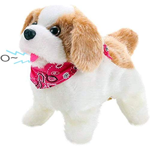 Liberty Imports Cute Little Puppy - Flip Over Dog, Somersaults, Walks, Sits, Barks