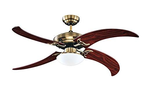 Deckenventilator mit extravaganten Flügeln
