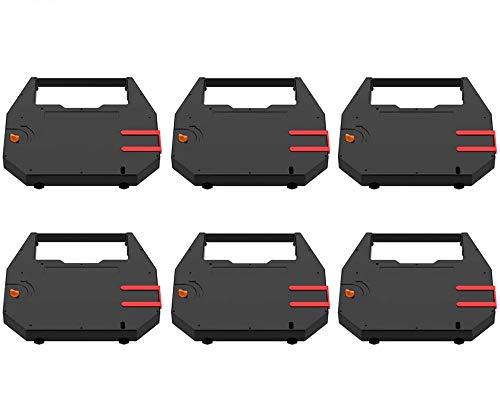 Bigger 6-Pack Replacement for Nakajima AE-500, AE-560, AE-580, AE-710 HYC01 Ribbon Used with NAKAJIMA WPT-150 WPT-160 Electronic Typewriter