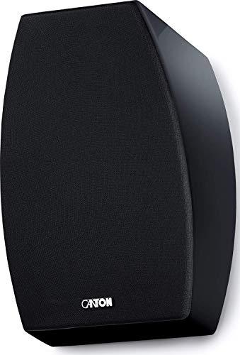 CANTON AR 800, Schwarz Hochglanz - 2-Wege Dolby Atmos Lautsprecher, Paarpreis