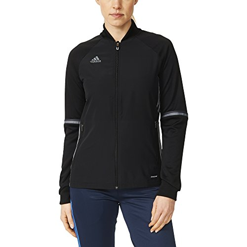 adidas Condivo 16 Womens Training Jacket S Black-Vista Grey