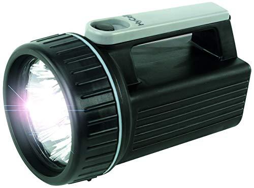 HyCell LED arbetslampa HS9 – batteridriven LED handlampa – robust handstrålkastare med 9 lysdioder och en ljustid på 150 h – ficklampa perfekt för camping arbete verkstad bil trädgård