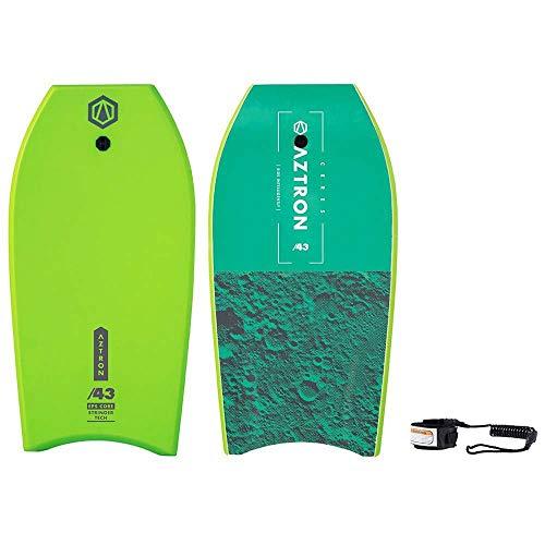 Aztron Ceres Bodyboard Unisex Adulto, Verde 109 x 55 x 5,6