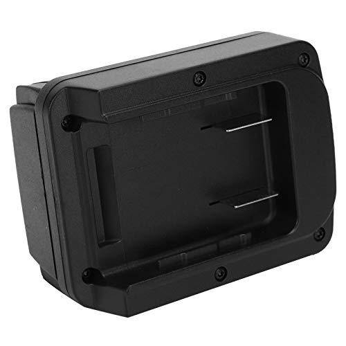 Cargador de batería para herramientas eléctricas, conveniente adaptador de batería Adaptador de batería, confiable para el taladro Milwaukee Dewalt