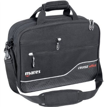 Mares Cruise Office Suitcase - Black/Black