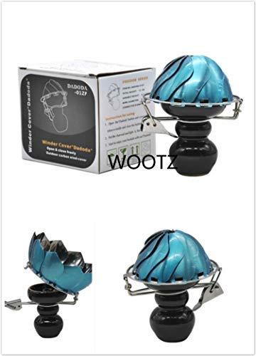 Shisha Keramiknapf Charcoal Ofen-Brenner Wärme Keeper Lotus Form mit Metall-Windschutz Holzkohle für Chicha Narguile Zubehör-Halter Windsicher